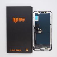MS Incell عرض لوحات شاشة LCD iPhone X استبدال محول الأرقام