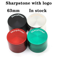 Sharpstone Grinders 63mm Flat Top Mixed Colors Smoking Acces...