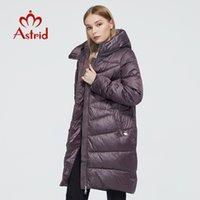 Astrid New Winter Damenmantel Frauen Lange Warm Parka Modejacke Mit Kapuze Bio-Down Weibliche Kleidung Marke Neue Design 9215 201226