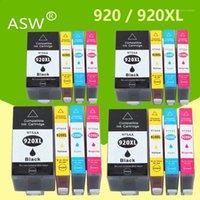 Cartuchos de tinta 16PK 920 Cartucho compatible para 920xl OfficeJet 6000 6500 6500A 7000 7500 7500A Impresora con chip1
