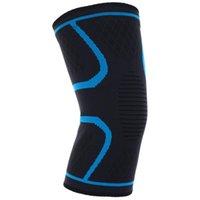 Coupeaux de genouils 1PC Support antidérapant à manches de compression de haute qualité pour la course à pied de basket gym