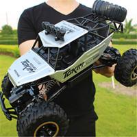 28 سنتيمتر rc 1/16 4wd 4x4 القيادة مزدوجة موتورز محرك bigfoot التحكم عن بعد سيارة نموذج السيارة على الطرق الوعرة 201105