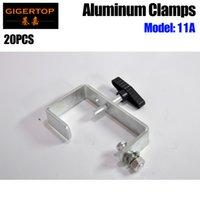TIPTOP 11A 20 Packung DURA-Klemme Licht dutell c clampen für 30-65mm TRUSS-Rohrlast 30kg Bühnenbeleuchtungsvorrichtung Montage Eisenmaterialien