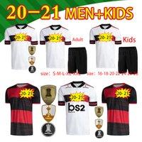 Yetişkin + Çocuk Kiti Çorap Takım Elbise En Kaliteli Flamenko Futbol Formaları 2020 2021 Flaman Guerrero Diego Flamengo Gabriel B Futbol Gömlek