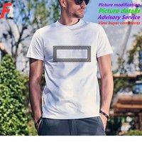 19SS Sıcak Yeni Bahar Yaz Hip Hop FG Fotoğraf Klasik Mektubu Katı Tee Kaykay Tshirt Pamuk Erkekler Kadınlar Kısa Kollu Rahat T Gömlek T05
