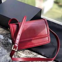 2021 Bolsos de bolsos de bolsos de bolsos de bolsos de la ropa de la ropa de la lady Bolsas de la lady Bolsa de cruce senior Nueva Moda Plain Flap Socialite Bag