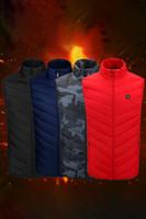 Chaleco con calefacción de mujeres con batería 5V, cremalleras ykk y resistente al agua de invierno, chaquetas de desgaste al aire libre, chaleco FS9124