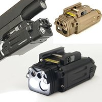 CQC Tactical DBAL IR Red Laser Light Combo Airsoft LED Torcia Torcia Paintball Caccia Pistole Pistola Pistola