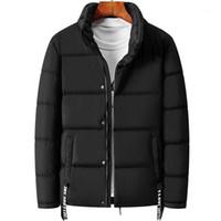 Kksky 2020 hommes down veste imprimé lettre épaisseur parkas poussière manteau mâle de style coréen style coréen vêtements massif vêtements neuf automne hiver 4xl1