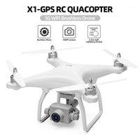 Wltoys XK X1 بدون طيار مع الكاميرا 1080P 2-Axis استقرار الذاتي gimbal 5g wifi fpv gps فرشاة موتور لايف الفيديو rc quadcopter1