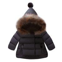 Arloneet Baby Girls Куртка осень зима теплого пальто для девочек теплое верхнее одежда для мальчиков куртка пальто одежда L0926 LJ201130