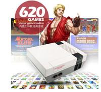 미니 TV는 620 500 2 in 1 게임 콘솔 비디오 핸드 헬드를위한 NES 게임 콘솔로 소매 상자가 빠른 배송