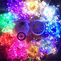 9 Renkler 1 M 2 M 3 M Peri Dize Işıkları LED Dizeleri Renkli Açık Kapalı Lamba Zincirleri Parti Düğün Festivali Dekorasyon LED Rave Oyuncaklar E121607