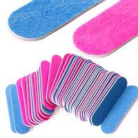 File per unghie professionali Mini Bustellati abrasivi Tampone Block Grits per Gel UV Pedicure Pedicure Pedicure Nail Art Accessori NT858