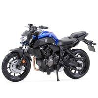 Maisto 1:18 Yamaha MT07 Statische statische gegossene Fahrzeuge Sammeln von Hobbys Motorrad Modell Spielzeug Y1201