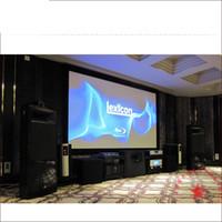 """120inch Cadre étroit 4K Crystal de Pet Laser TV Écran de projection Vava Smart Box 16: 9 4: 3 120 """"150Inch 170Inch 180Inch 200inch TV écran laser"""