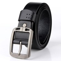 Hot Selling Men's Denim Pure Leather Fashion Casual Belt