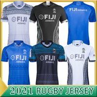 2020 2021 Top Rugby World Cup Jersey Fidji Blue Trikots 20 21 Rugby League Spanien Rugby Shirts Schottland Fiji Tonga Hemden