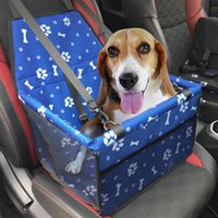Собака Автомобильные сиденья охватывает портативный кухня для домашних животных Сумка для путешествия Водонепроницаемая корзина Гамака с безопасным поясом для собак Кошки