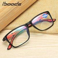 Iboode 안티 블루 읽기 안경 울트라 라이트 수지 컴퓨터 유리 패션 유연한 휴대용 빛 안경 +1.0 1.5 2 2.5 4.0