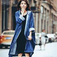 trench casaco mulheres roupas femininas 2020 outono novo casaco solto o joelho longo windbreaker windbreaker jaqueta mulheres