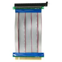 PCIE 16X PCI Express محول بطاقة PCI-e Riser Extender Cable مرنة 1x 4x 8x 16 ×
