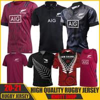 Tüm Yeni Varış 2020 Siyah Süper Rugby Formalar Sevens Rugby Gömlek Maillot Camiseta Maglia Tops S-5XL