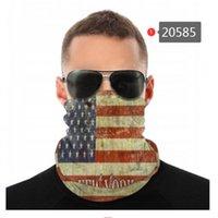 Escudo Velho Glória Americana Bandeira Sem Emenda Pescoço Pescoço Gaiter Bandana Face Máscara Proteção UV Motocicleta Ciclismo Riding Headbands