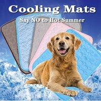 Summer Pet Cooling Mats for Dogs Summer Dog Bed for Small Me...