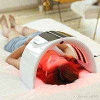 كوريا المحمولة أوميغا pdt العلاج الأحمر الأزرق الأخضر الأصفر 7 اللون أدى الوجه قناع ضوء آلة التصنيع الفضائي مصباح للجلد