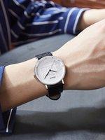 Caluola Dünne Paar Uhr Student Mode Geprägte Gürtel Womens Herren Watch Womens Uhr Wasserdichte Quarz Mode