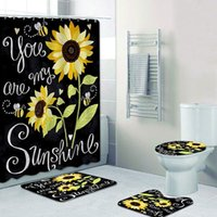 You Are My Sunshine Sunflower Bathroom Shower Curtains Sets ...