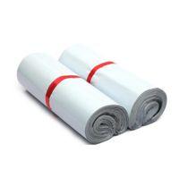 45 * 55 cm Beyaz Kendi Kendini Mühür Posta Çantası Plastik Zarf Kurye SQCJAP Hairclippersshop