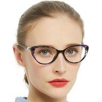 نظارات القراءة المضادة للأزرق الزرقاء النساء التقدم متعدد البؤر بلا حدود البصرية النظارات القط العين النظارات بالقرب من البصر البعيد acci chiar1