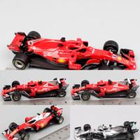 Kids 1:43 مقياس BBurago Racer RB15 SF71H SF90 Kimi Raikkonen تشارلز Leclerc سيباستيان فيتيل دييكاست نموذج سيارة سيارة لعبة 2019 Y1201