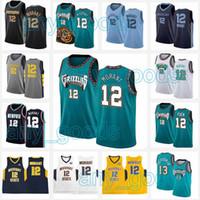 JA 12 Ahlaki Formalar MemphisGrizmaNCAA Murray State Racers Üniversitesi 2020 2021 Yeni Erkek Çocuklar Basketbol Forması