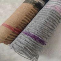 Mode Marke Kaschmirschal 100% Kaschmir Herren- und Damenschals Klassischer Plaid-gedruckter Schal Original-Label-Anzeigen