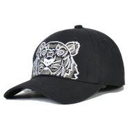 Tiger Head Designer Béisbol gorra de béisbol Gorras de béisbol para hombres para hombre 4 Temporada Sombrero 3 Color opcional altamente calidad