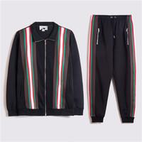2020 мужчин дизайнерские толстовки брюки набор капюшонов с капюшоном Мужская потные костюмы Лоскутное черное сплошное цветное высокое качество мужские свиты