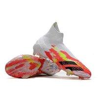 20 ألوان أعلى جودة أحذية كرة القدم أحذية كرة القدم التنين mutator المفترس 20 + FG بورجوندي الجنس البشري Pharrell Williams Pogbas Uniforia Pack
