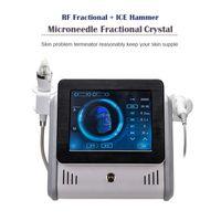 2021 Microneedling Streç İşaretleri Temizleme Makinesi Kesirli RF Yüz Kaldırma Kırışıklık Kaldırma Mikronedle Anti Aging Sivilce Skar Çıkarma