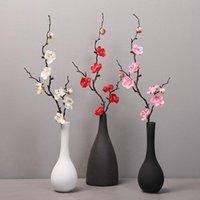 Fleurs décoratives guidons de prunes fleur de cerisier fleurs artificielles flores flores branches fausse maison table salon décor de diy mariage