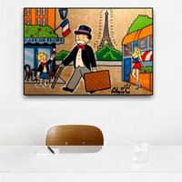 Alec Graffiti Pop Art Oil Painting Cartoon Figure Poster Pri...