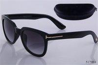 جديد جولة نظارات الرجل رجل نظارات توم الأزياء مصمم ساحة الشمس نظارات uv400 فورد عدسات الاتجاه النظارات الشمسية 5178 5179 0392 vv