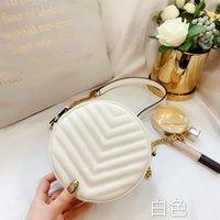 2021 box mode marke runde design wallet dame leder umhängetasche messenger weibliche handtasche mit neuem autop
