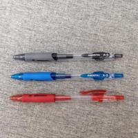 젤 펜 Andstal 클래식 개폐식 펜 0.5mm MG 블랙 블루 레드 잉크 리필 젤펜 학교 사무 용품 고정식 Pens1