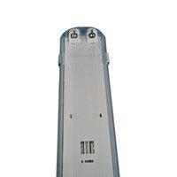T8 고정물 4ft 1.2m Tri-Proof LED 튜브 지원 브래킷 방수 방진 폭발 방지
