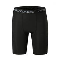 여름 무릎 길이에 대한 4 가지 색상 망 압축 바지 Pro 전투 바지 체육관 반바지 운동 활성 조깅 바지 jogger1 실행