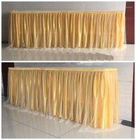 الجليد الحرير تول توتو الجدول تنورة لعيد ميلاد زفاف مهرجان حزب ديكور الجدول القماش المائدة