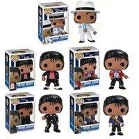 Funko Pop Beat It Michael Popular Música Estrela PVC Figura Figura Coleção Modelo Crianças Brinquedos Para Crianças Presente de Aniversário C1118